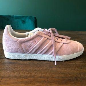 Adidas Gazelle Suede Sneaker Blush Pink size 8